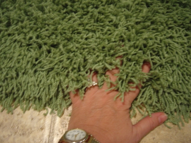 Lime Shag Rugs